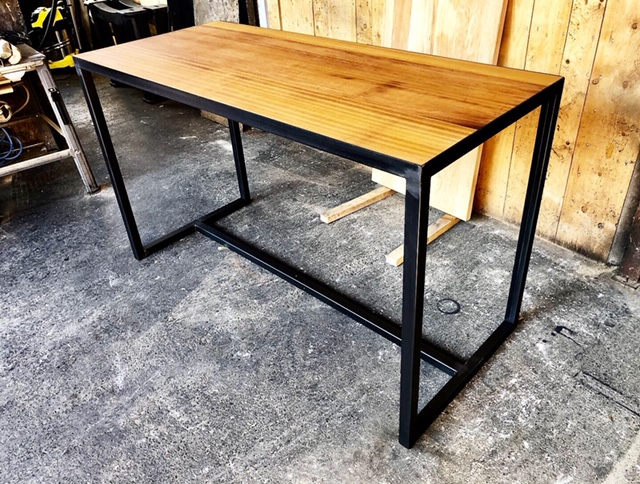table industrielle sur mesure brocantetendance
