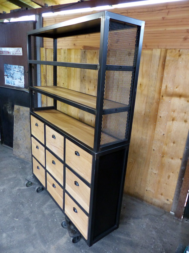 buffet industriel creation sur mesure brocantetendance (1)