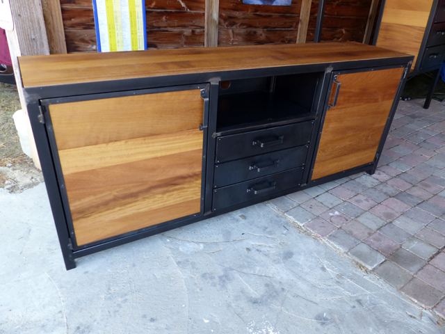 buffet indutriel fabrication brocantetendance