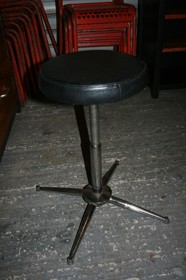 tabouret ophtalmologue ou opticien 1970
