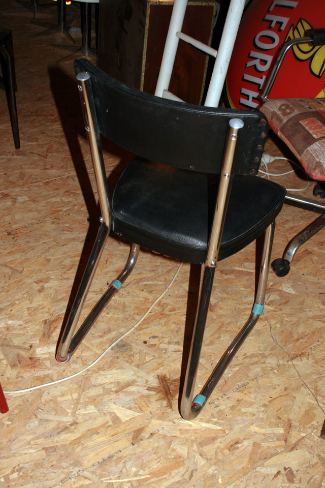 Chaise industrielle style STRAFOR 1950