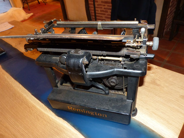 Machine à écrire Remington 1925 vintage